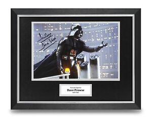 Dave-Prowse-Signed-16x12-Framed-Photo-Display-Darth-Vader-Star-Wars-Memorabilia