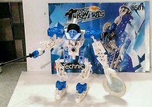 Lego-technic-throw-bots-8501-complete-with-booklet