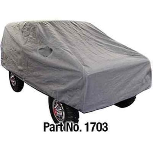 RAMPAGE 1703 Grey 4 Layer Custom Fit Vehicle Cover for 66-77 Ford Bronco