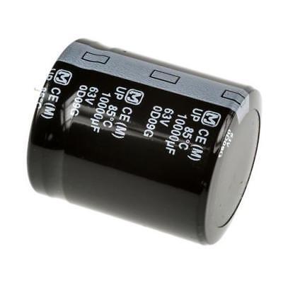 size 35*50mm 10000UF80V//80V10000UF 10PC AUDIO Electrolytic Capacitor PANASONIC