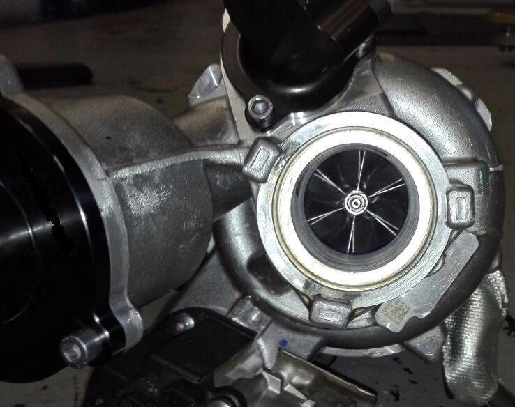 IS20 Turbo Upgrade to IS38 Race Spec Turbo - VW MK7 GTi or