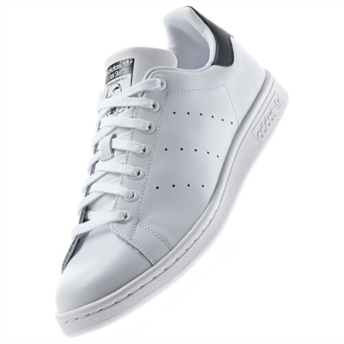 Originaux Stan Classique Rétro Adidas Tennis Cuir Smith Blanche Marine Baskets hsrdxtQBC