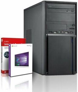 PC Quad Core Computer Gamer Allround AMD • 8GB • 500GB Rechner Komplett Win 10