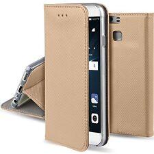Huawei P9 Flip Case & 360°Rotatable Aluminum Mobile Mount & TemperedGlass Screen