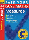 Pass Your GCSE Maths: Measures by Andrew Brodie (Paperback, 2004)