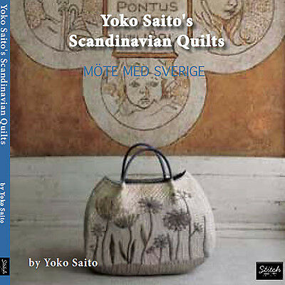 ENGLISH EDITION: Yoko Saito's SCANDINAVIAN QUILTS 27 Projects NEW BOOK Japanese