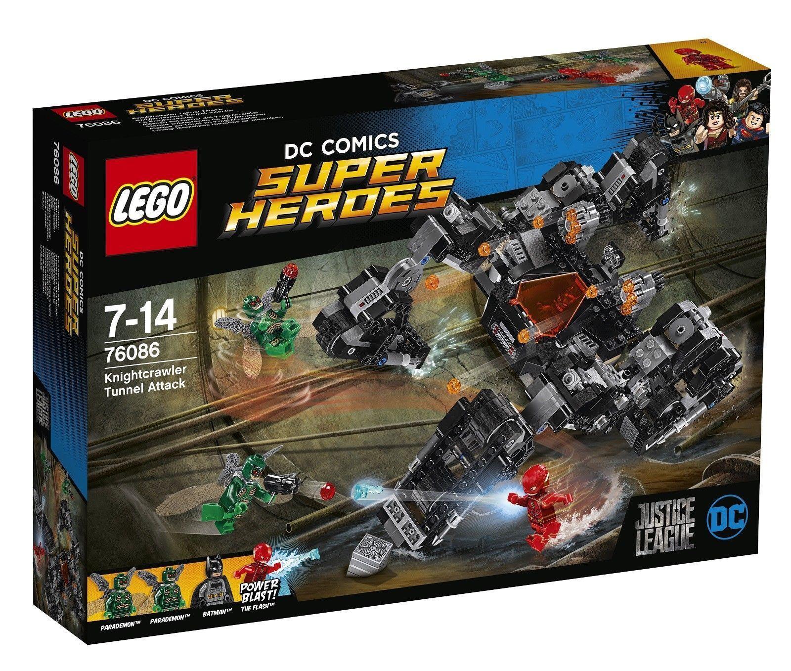La paix est une bénédiction de fruit Lego Super Heroes Heroes Heroes 76086: Justice League knightcrawler Tunnel attaque-Neuf c04e4c