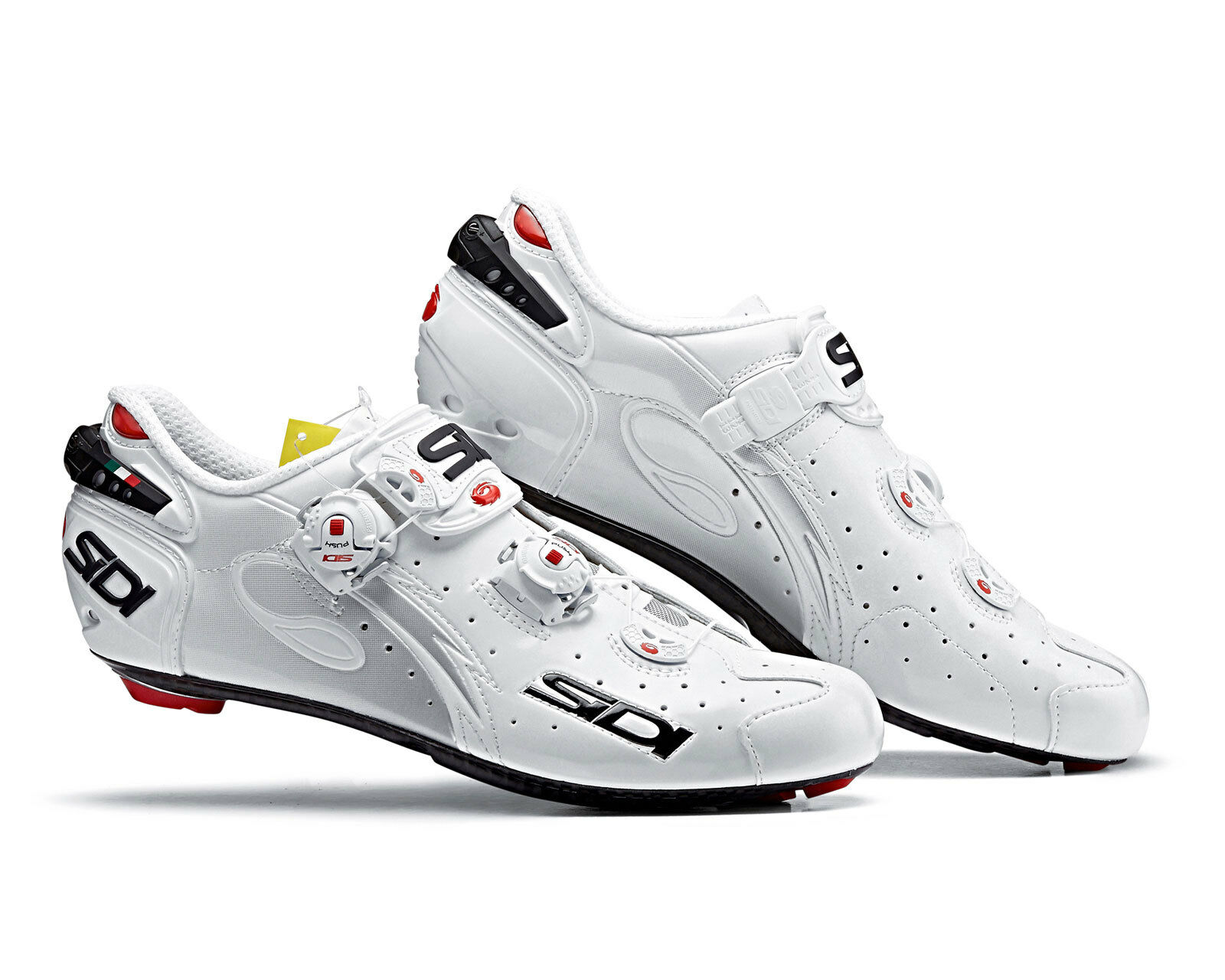 SIDI Wire Carbon road cycling chaussures-blanc blanc