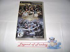 * New *  Dissidia 012 [duodecim] Final Fantasy - Sony PSP - PlayStation Portable