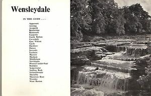 Wensleydale-Tourist-Guide-with-Map-1976-60-pages-Yorkshire-Nostalgia