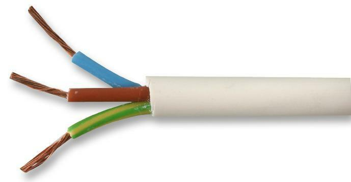 Cable/wire - Multicored - CABLE FLEX 2183Y WHITE 0.5MM 100M