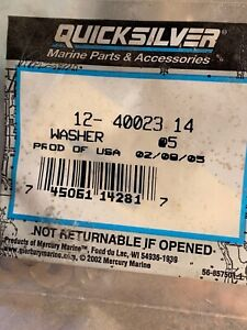 Details about  /NEW QUICKSILVER MARINE BOAT WASHER LOT OF 3 PART NO 12-40023 19