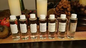 New Rare Pottery Barn Diffuser Bar Oil Refills Homescent