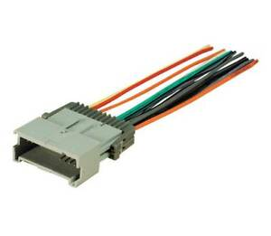 aftermarket radio stereo install dash wire wiring harness cable oem rh ebay com