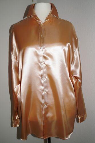 Camicia N Camicia RASO Satin MEN SHIRT 3xl//4xl 54//56//58 fino a 140cm la circonferenza petto