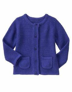 e04626c1241c NWT Gymboree LAVENDER BUNNY Baby Girl Gem Button Chunky Cardigan ...