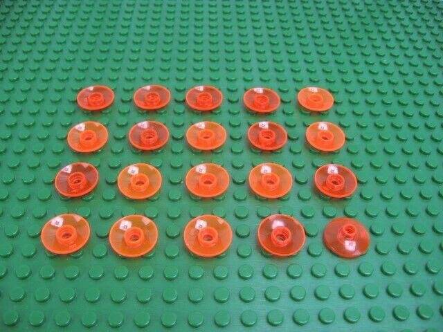 LEGO Parts ~ 6 Radar Dish 2 x 2 Inverted 4740 YELLOW