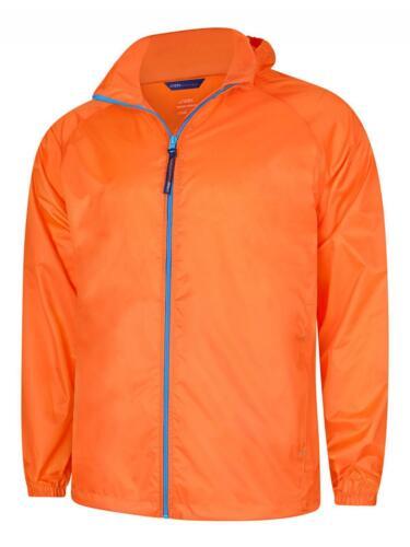 Uneek Active Men/'s Ladies Jacket Lightweight Waterproof /& Windproof Coat UC630