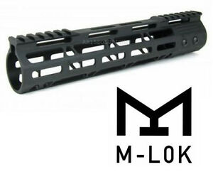 223-5-56-10-034-Inch-Ultra-Slim-M-Lok-Free-Float-Light-Weight-Handguard-With-Rails