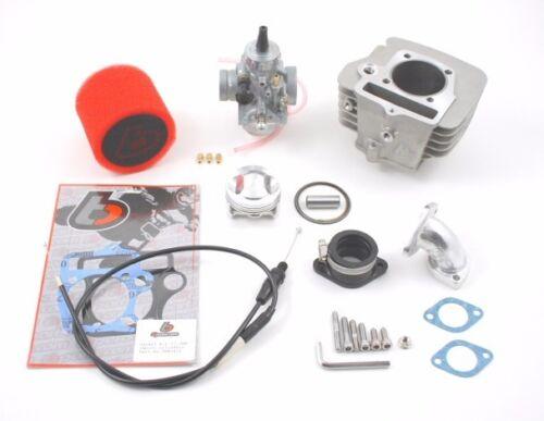 TBW9070 14mm Piston Pin Engines 146cc Big Bore Piston /& Mikuni VM26 Kit