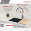 thumbnail 3 - Stainless Steel Kitchen Faucet