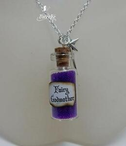 Fairy-Godmother-glass-vial-necklace-with-magical-purple-beads-and-wand-gift