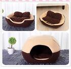 Pet Dog Cat Bed Soft Kennel Fleece Plush Foldable Mat Puppy Cat Sleeping Cushion