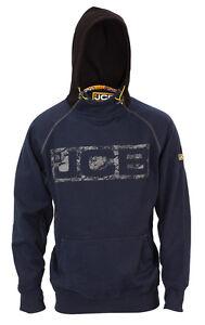 Sizes S-XXL JCB Horton Hoodie Grey /& Black Work Hooded Jumper Trade Hoody Mens