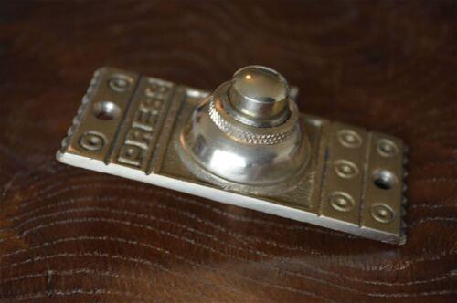 Victorian style brass front doorbell push button bell pusher door bell Z3