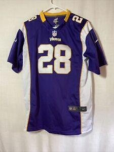 Details about Nfl Nike On Field Youth Medium Minnesota Vikings Adrian peterson Jersey 28 XL