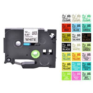 Compatible with Brother P-touch TZ-231 TZe-231 Label Tape Ribbon Cassette