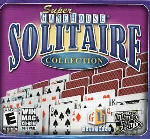 Details about Super Game House Solitaire PC Games Windows 10 8 7 XP  Computer gamehouse NEW