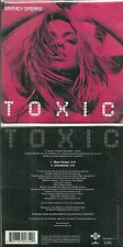 CD 2 TITRES - BRITNEY SPEARS : TOXIC