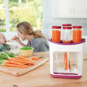 Fresh-Squeezed-Squeeze-Station-Baby-Weaning-Food-Puree-Reusable-Pouches-Maker