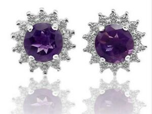 Genuine-Amethyst-Earrings-with-Diamonds-Sterling-Silver-1-5-carats