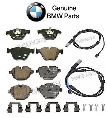 For BMW F10 535i 2011 Front Brake Pad Set w// Sensor Genuine