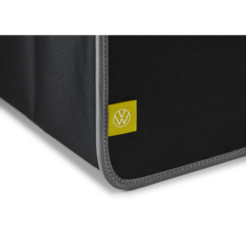 Original VW Faltbox Tasche Box Transport Faltschachtel Anthrazit//Silber-Metallic