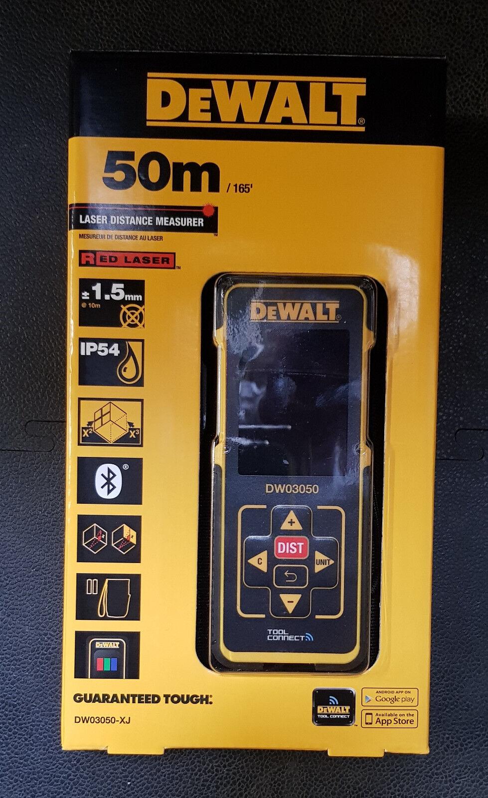 DeWALT DW03050 Laser - Distanzmesser Entfernungsmesser 50 m  DW 03050