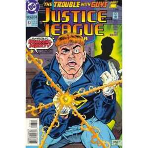 Justice-League-1987-series-83-in-Near-Mint-minus-condition-DC-comics-vf