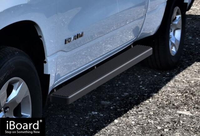 Iboard Running Boards >> Iboard Running Boards 5 Matte Black Fit 19 20 Dodge Ram 1500 Quad Cab