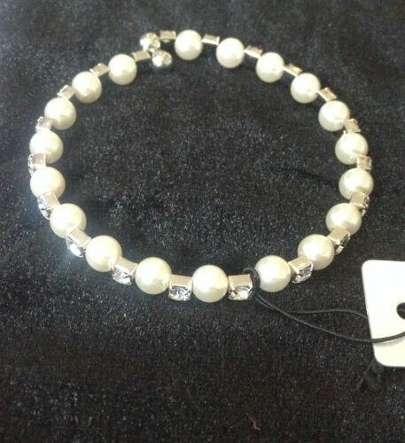 Hermoso Cristal Y Perlas Pulsera Nuevo Con Etiquetas Trusted Reino Unido Vendedor imitación