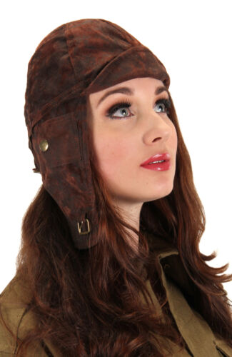Elope Steampunk Aviator Cloth Helmet