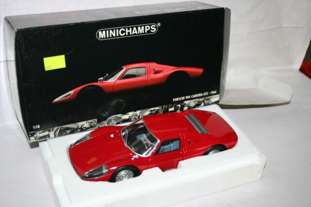 PORSCHE 904 CARRERA GTS 1964 ROSSA RED 1:18 MINICHAMPS 031289