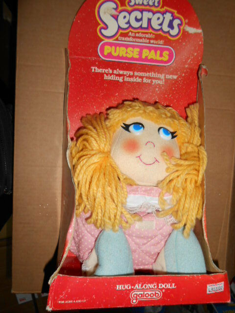 RARE Galoob Sweet Secrets Purse Pal Camilla doll Rare