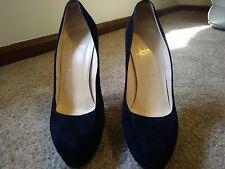 Authentic Christian Louboutin bibi black suede shoes 40/9.5