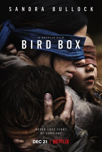"""Bird Box Movie Poster Sandra Bullock 2018 Film Art Print 13x20/"""" 24x36/"""" 27x40/"""""""