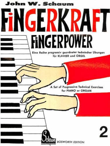 Schaum Fingerkraft Klassiker der Klavier-Pädagogik von John W