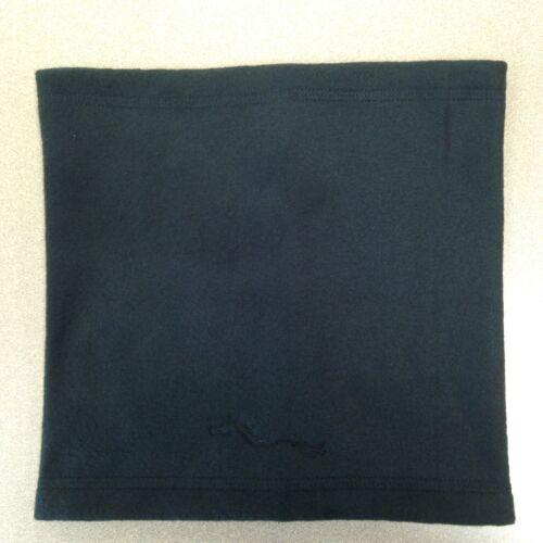Polaire Tube Style Hiver écharpe col boule chauffe-Gaiter Black
