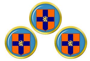 Hollandais-Forces-Armees-Niederlandischen-Streitkrafte-Balle-de-Golf-Marqueur