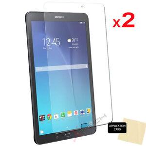 8992e3d20e2 2x CLEAR Screen Protector Covers for Samsung Galaxy Tab E 9.6 Inch ...